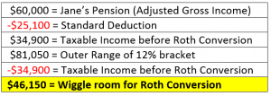 roth conversion example